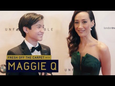 Fresh Off the Carpet  Maggie Q