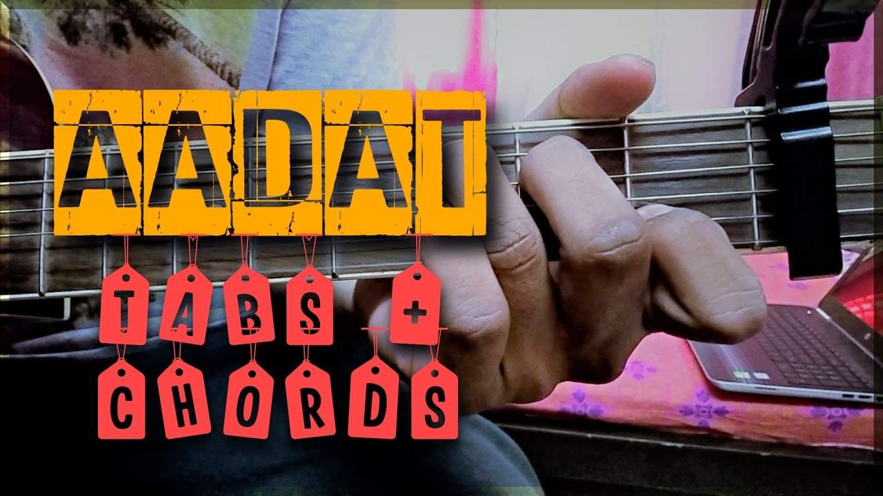 Aadat Guitar Tabs Power Chords Youtube