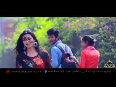 Ll Ruperi Valu Soneri Lata // Govyachya Kinaryaver Ll JULY 2018 College Love' Story Ll  Marathi Song