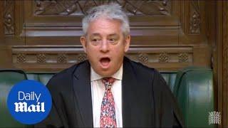 MP Dennis Skinner accuses John Bercow of having 'favourites'