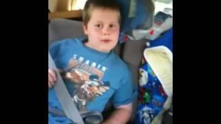 Jonathan sings Dino Squad theme