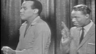 Nat King Cole & Harry Belafonte Mama Look A Boo Boo NBCTV