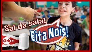 O dia que fui Expulso da sala de aula - Eita Nois com Felipe Felpz | OrbTV