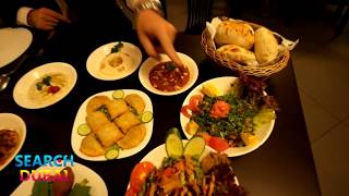 Обзор сирийского ресторана Yamal Al Sham в Дубае
