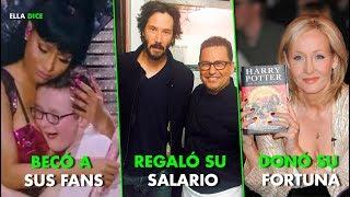 """9 FAMOSOS Que Tuvieron Increíbles Actos De GENEROSIDAD Con """"Gente Común"""""""
