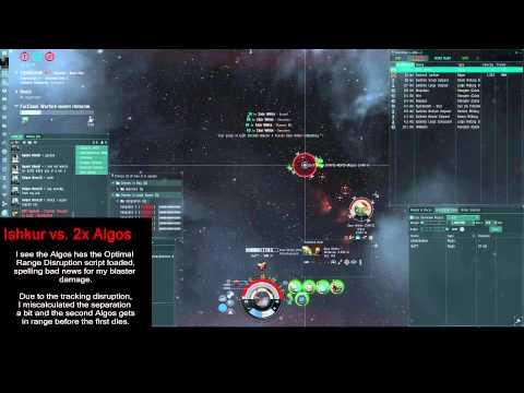 Eve Online - Solo PvP - Ishkur vs. 2x Algos