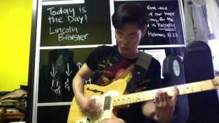 Today Is The Day - Lincoln Brewster (Electric guitar)