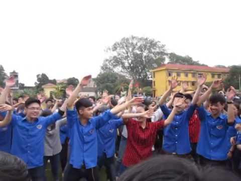 Hội Trại THPT Tân Yên số 1 26/3/2014