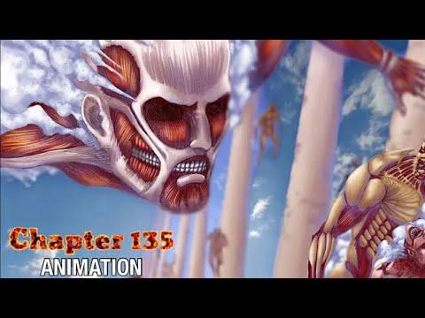 Attack on Titan chapter 135    Motion Manga & Animation (English Dub)
