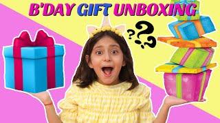 Anantya's Birthday - GIFTS UNBOXING | #MyMissAnand #ToyStars