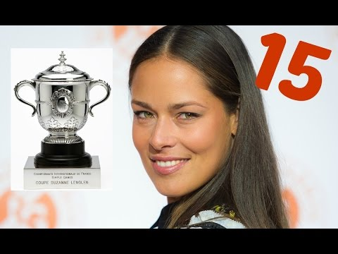 Tribute to Ana Ivanovic's career titles: Trophies & match points