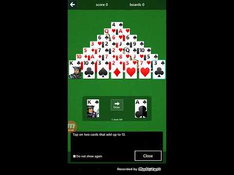 Microsoft Solitaire Android & IOS App