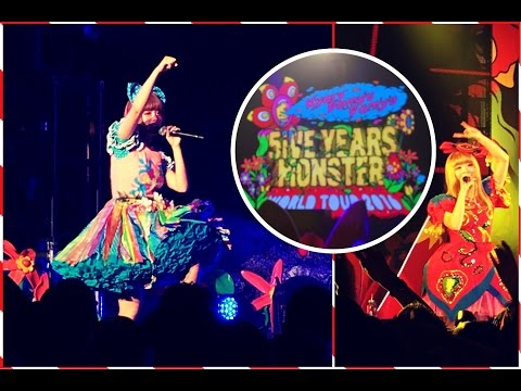 Kyary Pamyu Pamyu 5ive years monster world tour London| July 2016