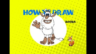 How to draw Booba - DRAWING LESSON - LEARN TO DRAW - ART