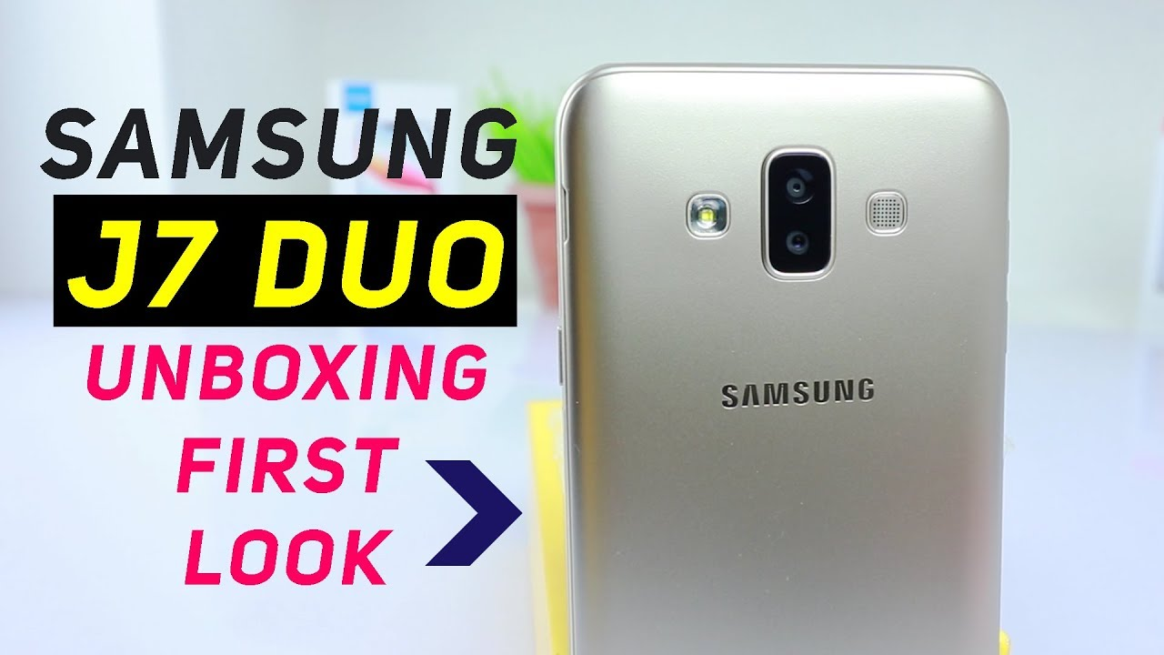 Samsung Galaxy J7 DUO 2018 Unboxing & First Look | Comparing Specs J7 Prime2