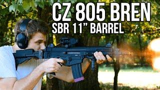 the cz 805 bren sbr 11 barrel