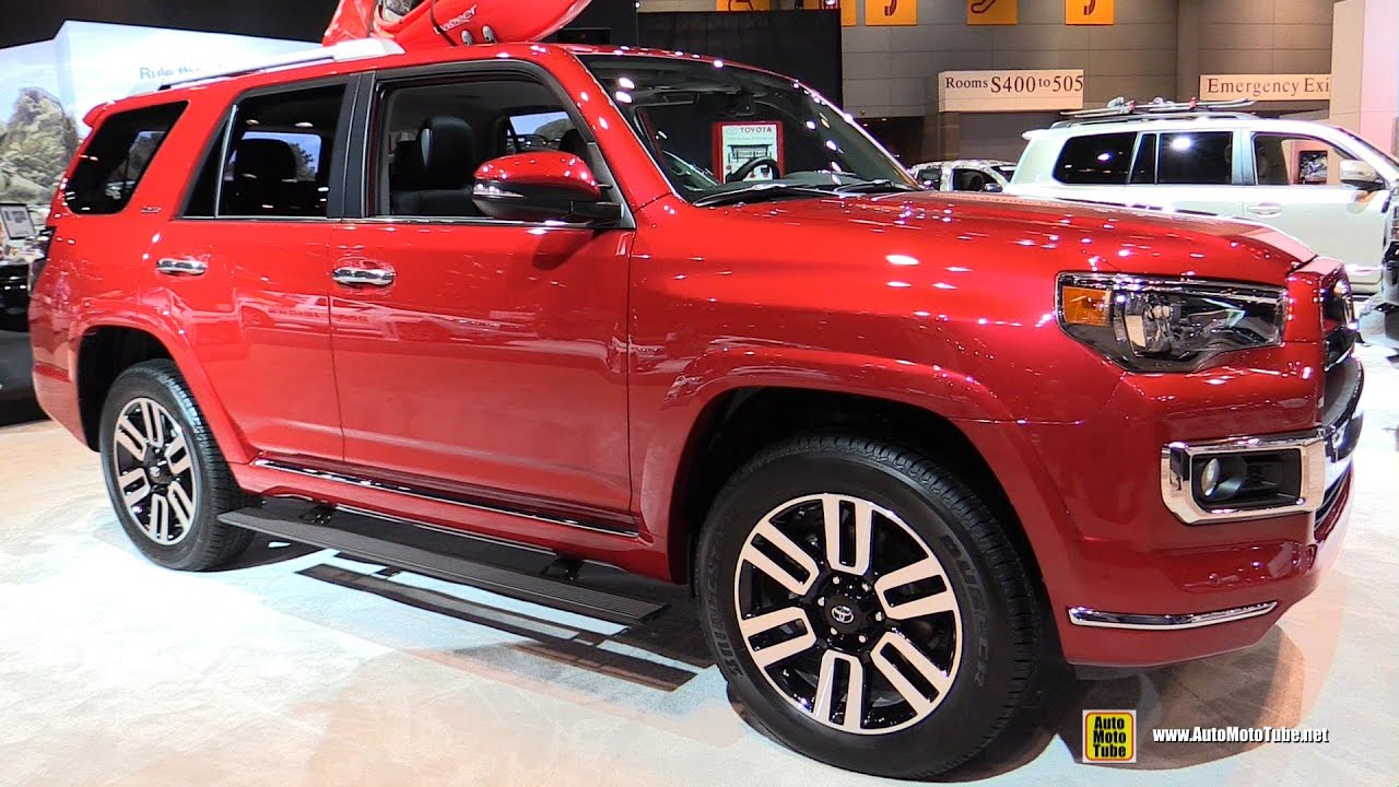 2015 toyota 4runner limited exterior and interior walkaround 2015 chicago auto show youtube. Black Bedroom Furniture Sets. Home Design Ideas