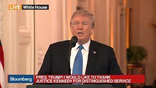 Trump Nominates Brett Kavanaugh to Fill Supreme Court Seat