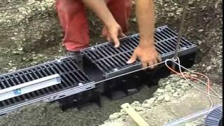 видео Монтаж дренажной системы