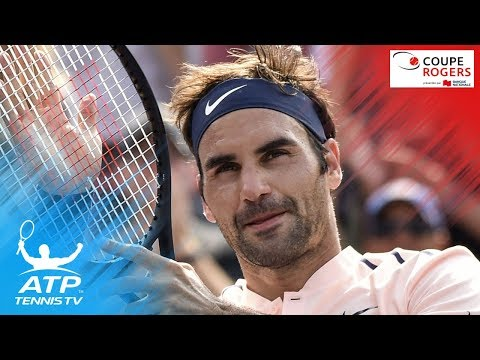 Best shots from Roger Federer's win over Robin Haase | Coupe Rogers Montreal 2017 Semi-Final