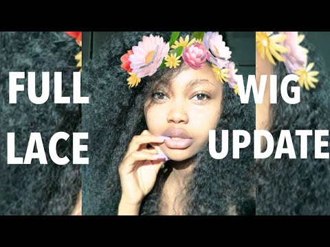 KINKY CURLY FULL LACE WIG UPDATE: BUY OR NOT?