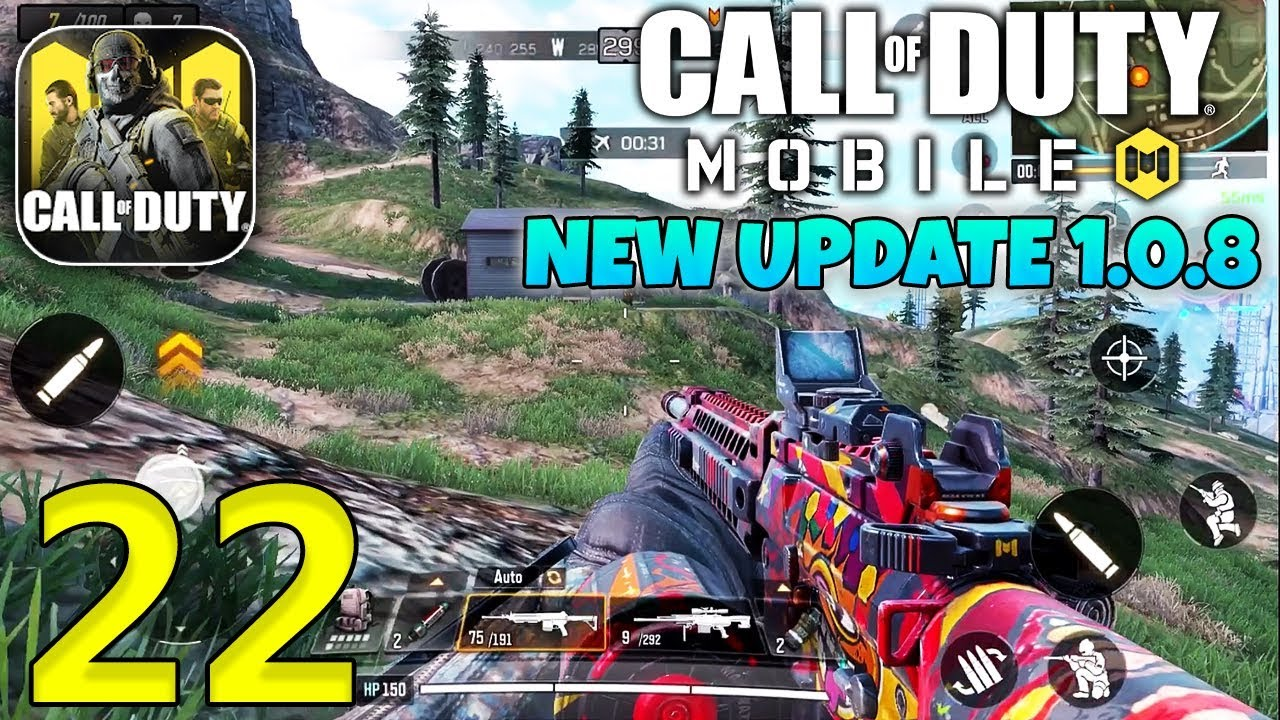 CALL OF DUTY MOBILE Battle Royale - New Update 1.0.8 Gameplay - CODM Android - Part 22