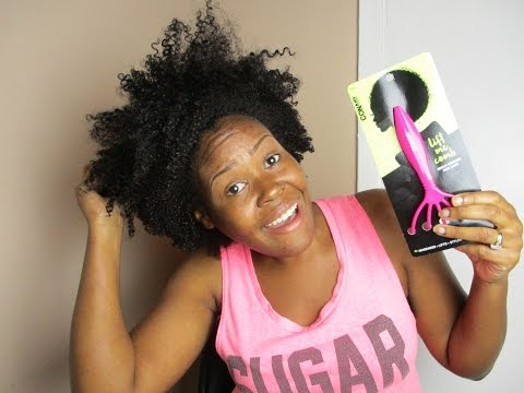 Natural Hair Care Prep | Using The Lift Me Comb By Conair