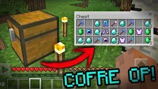 Cómo Obtener Un Cofre OP! Al iniciar tu Mundo | Secretos que debes saber en Minecraft 1.2