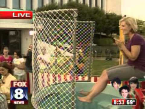 Fox Reporter in a Dunk Tank