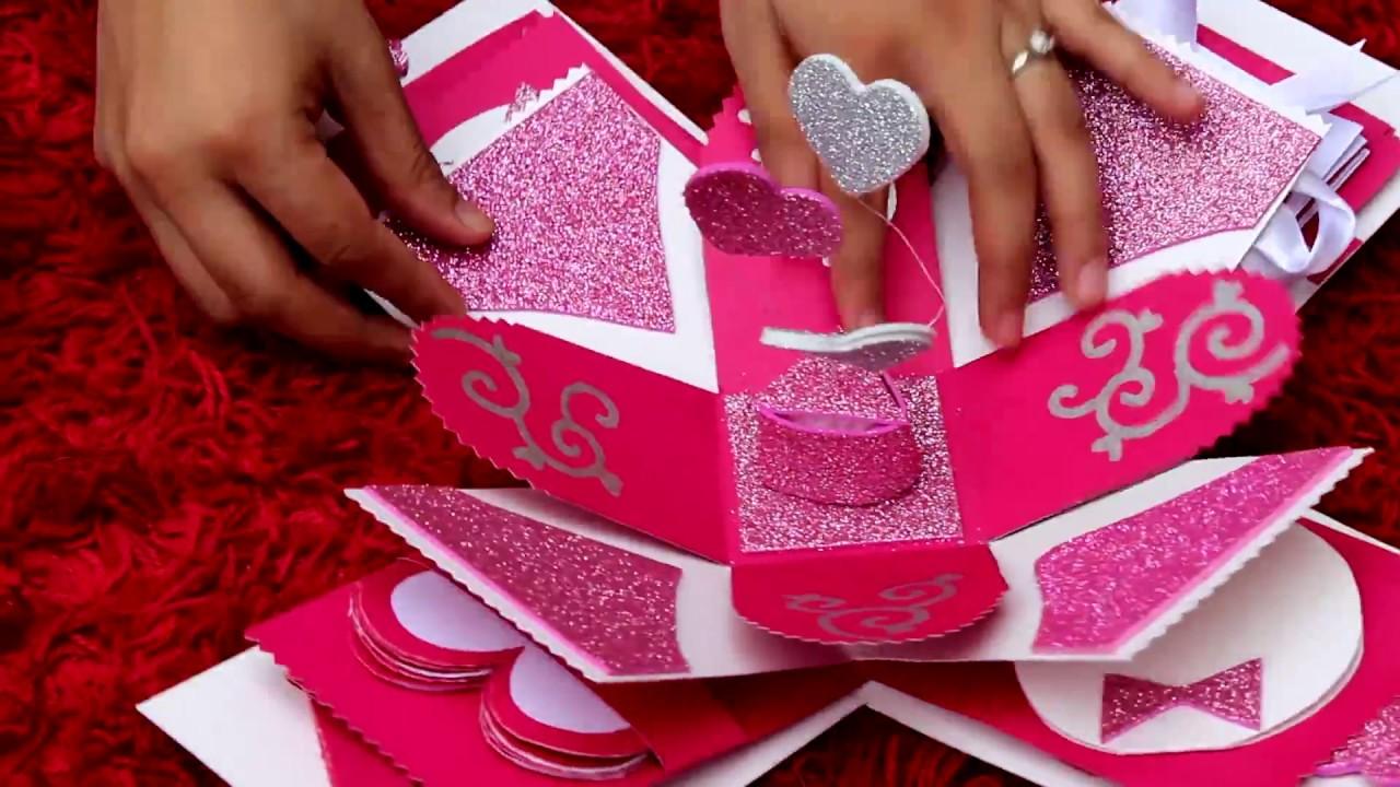 DIY - Handmade gift for boyfriend (Explosion box) Loversbay theme 27 ...