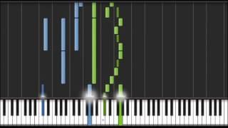 Tchaikovsky - Symphony No.5  2nd Mvt [Piano Tutorial] (Synthesia)