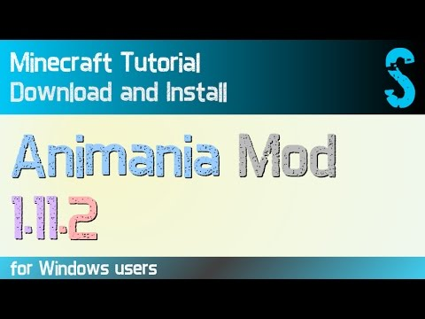 ANIMANIA MOD 1 11 2 minecraft - how to download and install (with forge on  Windows)