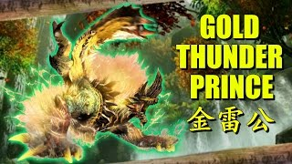 Monster Hunter Generations (X): The Gold Thunder Prince Zinogre