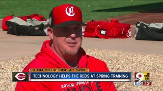 Technology helps the Reds at Spring Training