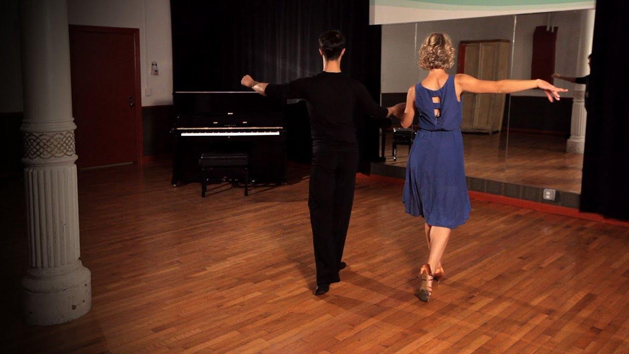 how to do rumba crossover breaks ballroom dance youtube