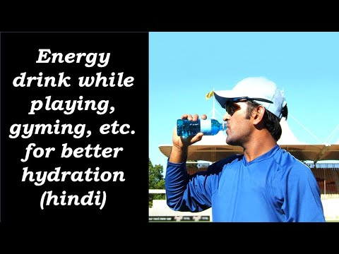 Energy Drink While Playing,gyming,etc. For Better Hydration