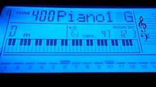 Видео-урок - Осень (ДДТ) (синтезатор)