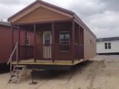 1 bedroom 1 bath porch model cabin CLEARANCE Tiny Houses on Sale