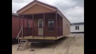1 Bedroom 1 Bath Porch Model Cabin $clearance!