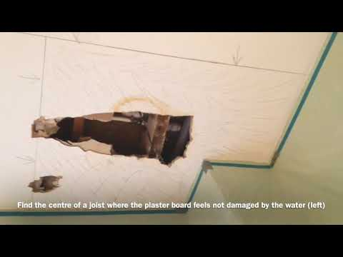 repairing-a-ceiling-after-a-water-leak-||-how-to.