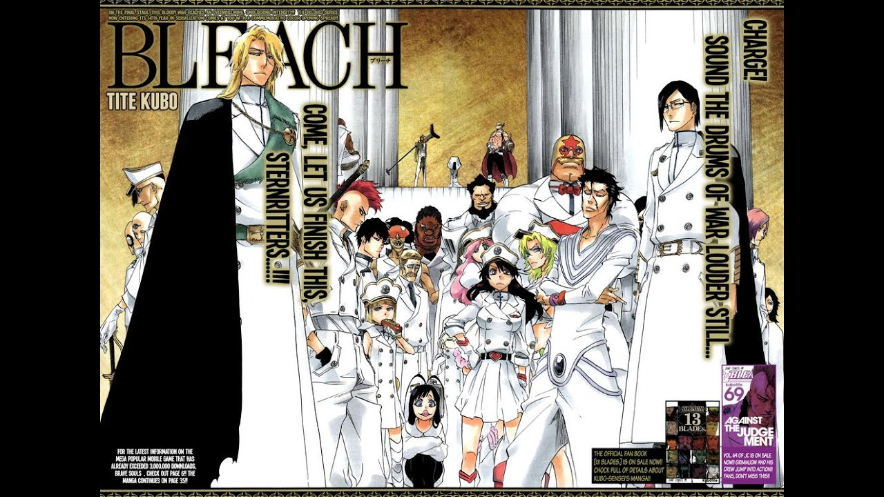 Top 70 Strongest Bleach Characters 2016 [Manga Finale List]