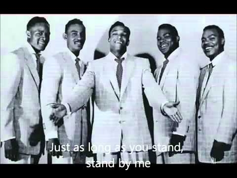 The Drifters Stand by me (lyrics)