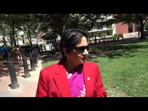 Aruna & Hari Sharma at Pershing Park memorial Plaza, White House, Washington DC, May 16, 2017