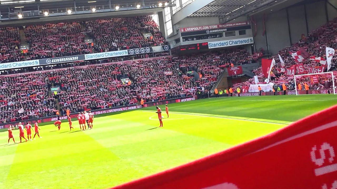 Liverpool Vs Manchester City Never Walk Alone