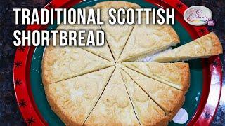 Traditional Scottish Shortbread - Just 4 Ingredients | Let's Celebrate TV