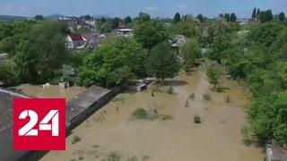 В Ставрополье спасатели ликвидируют последствия наводнения