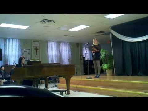 130423 Elizabeth's Senior Recital - Nazareth Academy High School