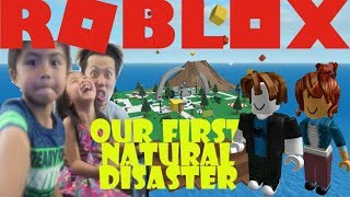 ROBLOX - Natural Disaster (Play Vlog)