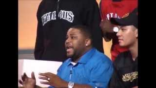 MTV BEHIND THE SCENES - STREET WARRIORS - ANTHONY ANDERSON, TYRESE, PAUL WALL, AND FRIENDS