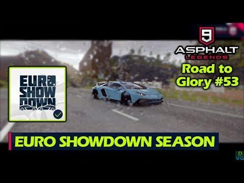 Asphalt 9 - F2P RTG #53 | Euro Showdown Season